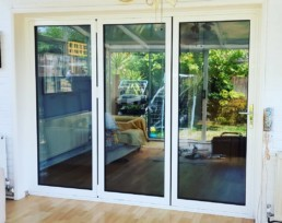 closed bi fold door Essex
