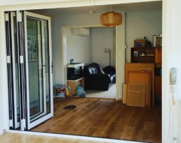 bi-fold door installation
